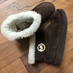 MICHAEL Michael Kors Shoes - MICHAEL KORS FUR BOOTS